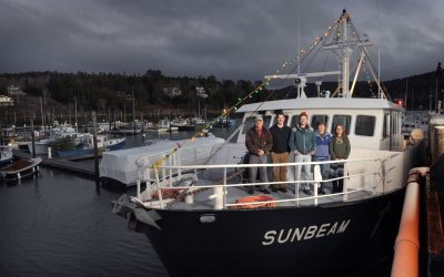 Maine Seacoast Mission uses 72-foot ship (Sunbeam) to provide telemedicine services to 9 islands off the coast of Bar Harbor, Maine