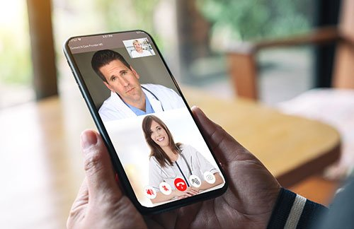 Connect N' Care® is a customizable telehealth software product that allows healthcare providers to easily diagnose, treat and prescribe from their mobile device or PC.