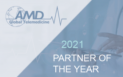 AMD Global Telemedicine Recognizes Solutionz Inc as their 2021 Partner of the Year